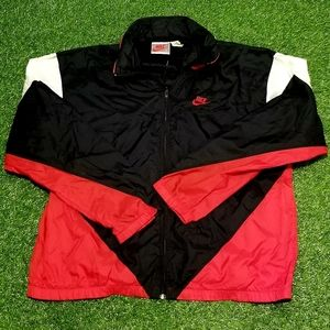 Vintage 90's Nike Windbreaker Zip Up Jacket